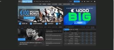 1x2masters website