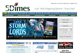 5dimes website